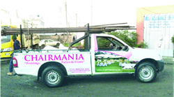Chairmania Car Branding