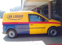 KK Lodgit Car Branding