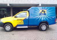 Supanet Car Branding